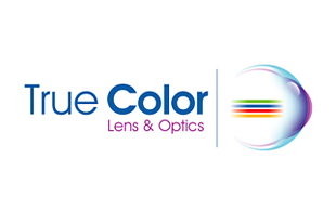 True Color Lens & Optics Logo Design