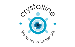 Crystalline Lens & Optics Logo Design