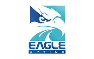 Eagle Optics Lens & Optics Logo Design