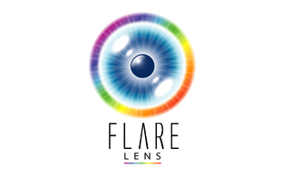 Flare Lens Lens & Optics Logo Design