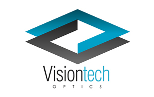 Vision Tech Lens & Optics Logo Design
