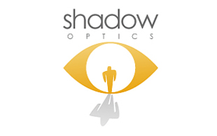 Shadow Optics Lens & Optics Logo Design