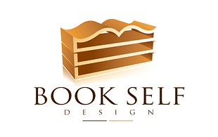 Book Self Library & Archives Logo Design