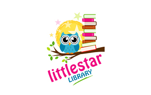 Littlestar Library & Archives Logo Design