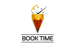 Book Time Library & Archives Logo Design