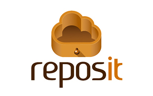 Reposit Library & Archives Logo Design