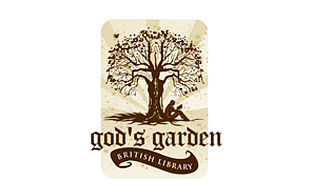 God's Garden Library & Archives Logo Design