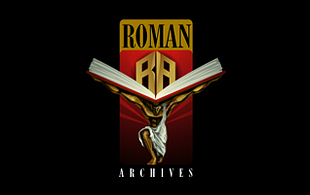 Roman Library & Archives Logo Design