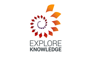 Explore Knowledge Library & Archives Logo Design