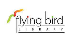 Flying Bird Library Library & Archives Logo Design