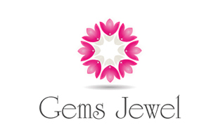 Gems Jewel Luxury Goods & Jewellery Logo Design