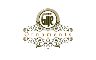 Gije Ornaments Luxury Goods & Jewellery Logo Design