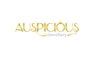 Auspicious Jewelry Luxury Goods & Jewellery Logo Design