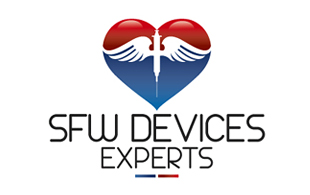 SFW Devices Experts Medical Equipment & Devices Logo Design