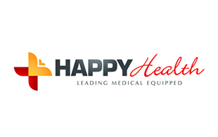 Happy Wealth Medical Equipment & Devices Logo Design