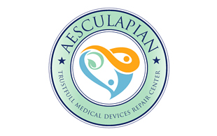 Aesculapian Medical Equipment & Devices Logo Design