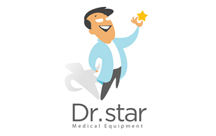 Dr. Star Medical Equipment & Devices Logo Design