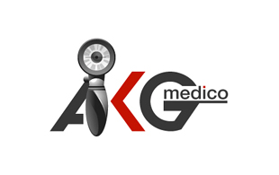 AKG Medico Medical Equipment & Devices Logo Design