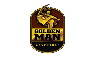 Golden Man Mining & Metals Logo Design