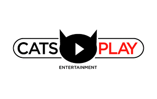 Cats Play Film Motion Pictures and Film Logo Design