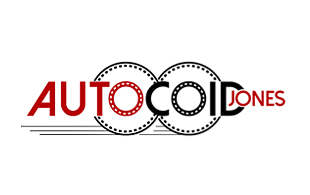 Autocoid Jones Motion Pictures and Film Logo Design