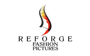 Reforge Fashion Rictures Motion Pictures and Film Logo Design