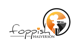 Foppish Halversion Motion Pictures and Film Logo Design