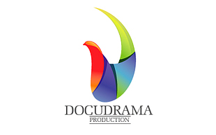 Docudrama Production Motion Pictures and Film Logo Design