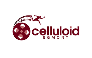 Celluloid Egmont Motion Pictures and Film Logo Design