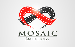 Mosaic Motion Pictures and Film Logo Design