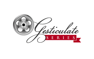 Gesticulate Series Motion Pictures and Film Logo Design