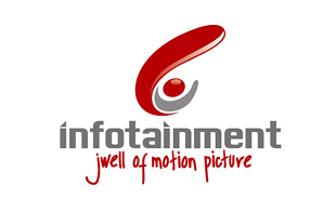 Infotainment Motion Pictures and Film Logo Design