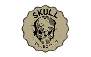 Skull Collection Museums & Institution Logo Design