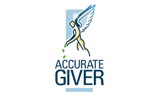 Accurate Giver NGO & Non-Profit Organisations Logo Design