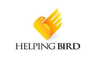 Helping Bird NGO & Non-Profit Organisations Logo Design