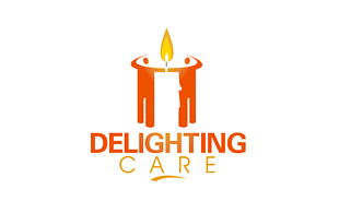 Delighting Care NGO & Non-Profit Organisations Logo Design