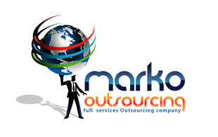Marko Outsourcing & Offshoring Logo Design