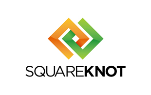 Squareknot Outsourcing & Offshoring Logo Design