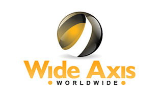 Wide Axis Worldwide Outsourcing & Offshoring Logo Design
