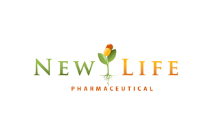 New Life Pharmaceuticals Logo Design