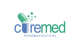 Curemed Pharmaceutical Pharmaceuticals Logo Design