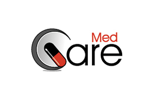 Med Care Pharmaceuticals Logo Design