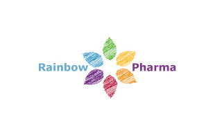 Rainbow Pharma Pharmaceuticals Logo Design