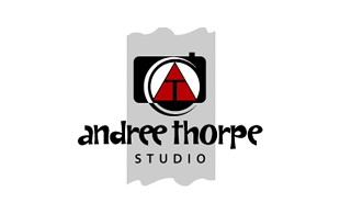 Andree Thorpe Studio Photography & Videography Logo Design