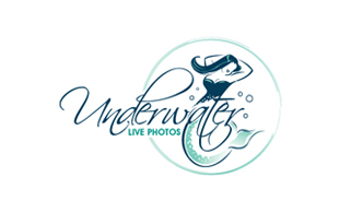 Underwater Live Photos Photography & Videography Logo Design