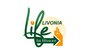 Livonia Life In House Real Estate & Construction Logo Design