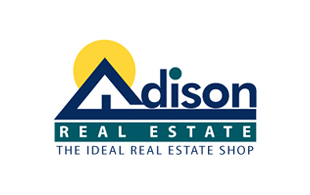 Adison Real Estate Real Estate & Construction Logo Design