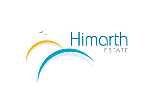 Himarth Estate Real Estate & Construction Logo Design