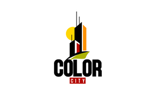 Color City Real Estate & Construction Logo Design