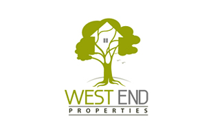 Westend Properties Real Estate & Construction Logo Design